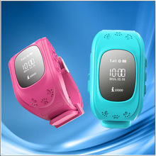 Stainless steel back water resistant 50m China guangdong watches with WCDMA 3g gps watch hand held gps tracker