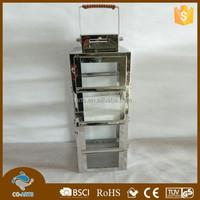 Practical stainless steel metal lantern cheap moroccan lantern