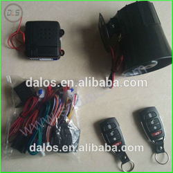 power window output car alarm and remote central door lock, K9 Car Alarm one way 12v hottest in Suriname market