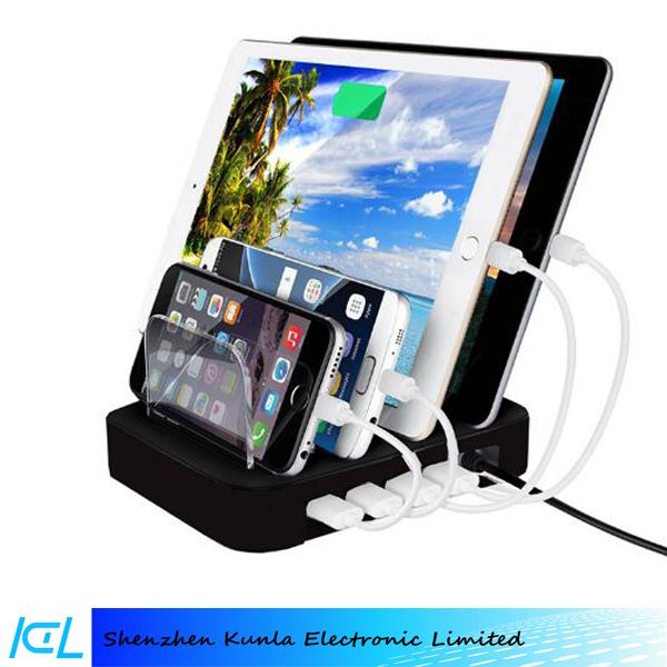 multi fonction universal mobile station de recharge de t l phone multi port power station. Black Bedroom Furniture Sets. Home Design Ideas