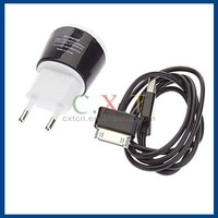 Stylish Mini USB Power Adapter with USB Data Charging Cable for Samsung Galaxy Tab P1000