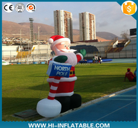 Inflatable Christmas decoration,Inflatable christmas Santa Claus Model