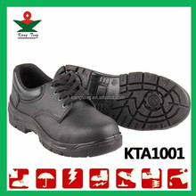 indian buffalo leather perforated split safety shoes