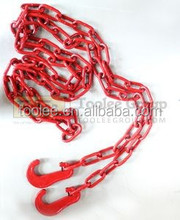 Fishing and Lashing Long link chain, Grade 80 Alloy steel made 13mm*80mm