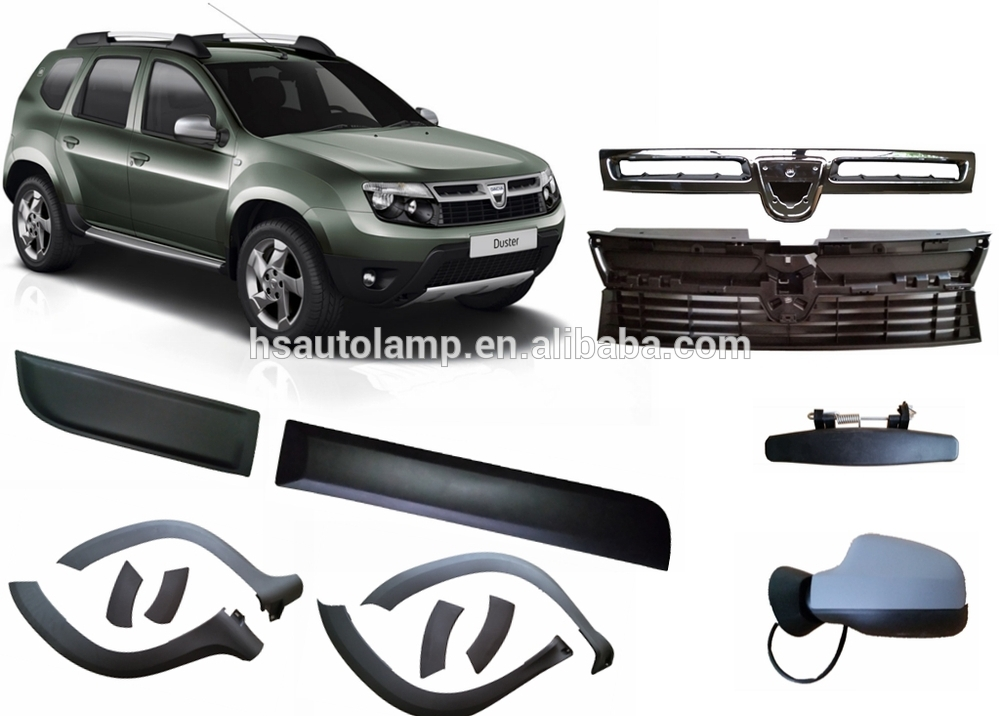 dacia duster auto accessories fender flares buy dacia duster fender flare duster auto fender. Black Bedroom Furniture Sets. Home Design Ideas
