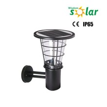 Classic solar outdoor wall light with 36pcs LED,garden lamp for courtyard illumination
