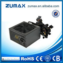 ZUMAX ATX EUF450 Active PFC ATX real sources atx power supply 450w