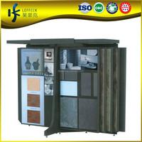 Metal Slidding Doors Tile Display System, Floor Tile Sample board,Tile Showroom Display