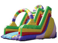 2015 Summer most popular giant inflatable water slide Funny Inflatable Bouncer for adult and Children