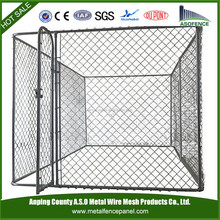 China wholesale portable DIY Box Kennel / pet play pen / chain-link kennel (factory)