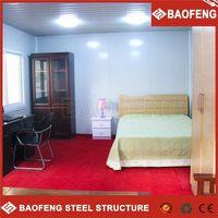 prefab luxury foldable modified eco-friendly fashionable dormitory rooms