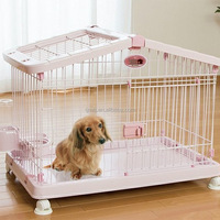 Pet Foldable Wooden Cage