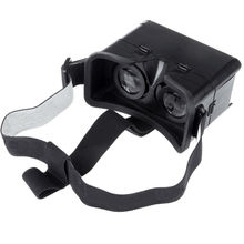 Plastic Google cardboard universal for IPhone5 and Galaxy virtual reality glasses