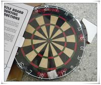 18'' Chinese Local Sisal Round Wire Bristle Dart Board