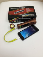 TF Card , power bank , bluetooth speaker with LED light for bicycle for sport
