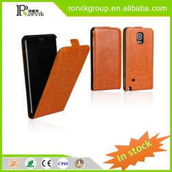 Hot selling universal smart phone wallet style leather case leather for Samsung Galaxy NOTE 4
