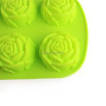 Food Grade Silicone Durable Mini Rose Shape Jelly Mold