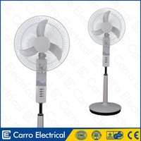 2014 new products in market orient stand fan with 12pcs led lights