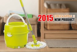 2015 one single bucket spin mop new products online shopping india