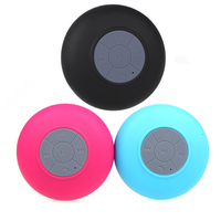 Portable Waterproof Wireless my vision Bluetooth Speaker For SHOWER POOL Handsfree Receive Music Suction for iphone 6/6s Samsun