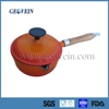 China supplier cast iron soup pot with wooden handle