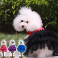 High Quality Sweety Princess dress for Tenerife Dog wholesale sexy dog dress