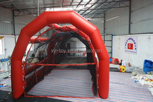 durable pvc tarpaulin inflatable batting cages for kids and adults