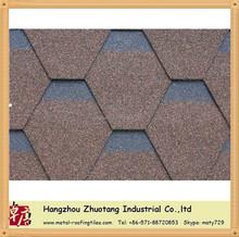 Mosaic asphalt shingle from Zhuotang