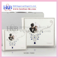 Wholesale Perfect Bound Perfect Design Hard Cover Crystal Photo Book