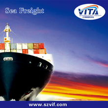 sea freight from ningbo to usa