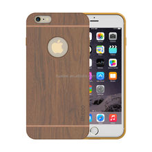 Full-around protetice wood cell phone case,wholesale luxury cell phone case for iphone 6