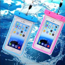 Hot selling waterproof case/waterproof bag/waterproof pouch for swimming