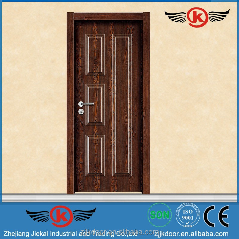 Jk mw9501 modern wood door designs plywood door price for Plywood door design