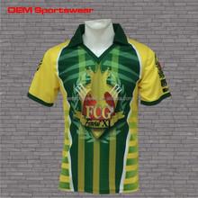 New design sports pattern custom made cricket jerseys