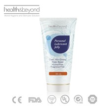 CE approval alcohol free sex personal lubricant jelly