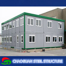 ready made youth hostel house/used cargo container prices/prefabricated container shops