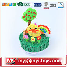 china wholesale hama beads MYJ beads 5mm ET04A jigsaw 3D puzzle beads kid toys