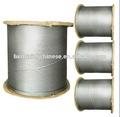 1*19 de alta resistencia a la tracción de acero galvanizado hilo de alambre
