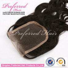 OEM Manufacturer Make You More Confident 100% Human Hair Lace Closure On Sale