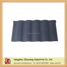 different color of Stone coated roman type metal roofing tile