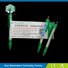 Personalised Flag Pen, Premium Banner Ball Pen, Scroll Ball Pen