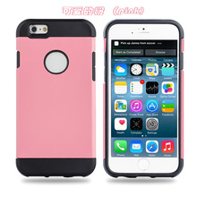 "Hot selling helmet and armour plastic pc+tpu rubber 2 in 1 mobile back protective shell cover case bumper For iPhone 6 4.7"" 5.5"""