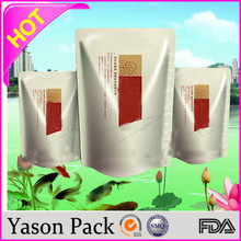 Yasonpack water pouch for kids pouch with window mask packaging pouch