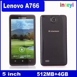 Lenovo A766 MTK6589 Quad Core Smartphone 5'' Android 4.1 5.0Mp Dual SIM ROM 4GB