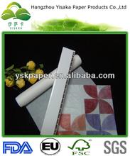 sbiancato carta oleata per il confezionamento degli alimenti