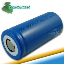 5AH batería recargable de iones de litio de alta capacidad 32650