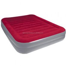 Plush inflatable flocking bed/Travel air mattress