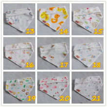 New Baby Girls Boys Triangle Cute Cotton Waterproof Catch Food Spills Soft Bibs fashionable baby bibs bufunda