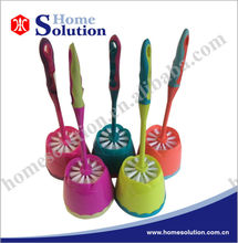 household cleaning products toilet brush, cleaning brush set, plastic toilet brush with holder