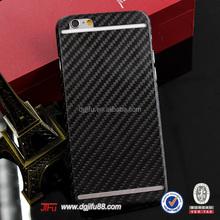 2015 New Mobile phone cases ,carbon fiber mobile accessoris for iPhone 6 carbon fiber +wood cases